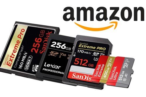 Las ofertas de la semana en tarjetas de memoria SanDisk en Amazon nos dejan SD, Micro SD, Compact Flash o CFexpress a los mejores precios