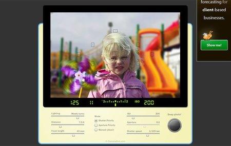 CameraSim, simulador online de SLR. Comprende como funciona una cámara réflex
