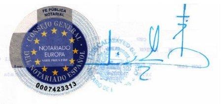 El depósito de cuentas digital no necesita legitimación notarial de firma