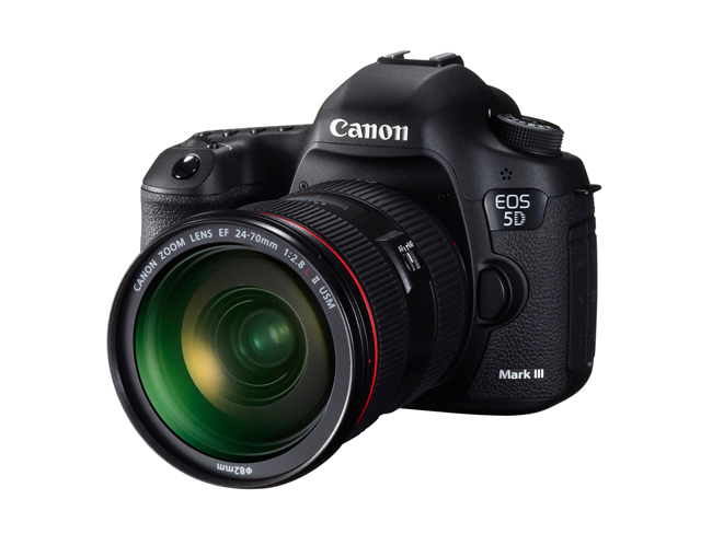 Canon EOS 5D Mark III frontal