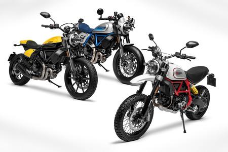 Ducati Scrambler Full Throttle, Café Racer y Desert Sled 2019: Más tecnología, misma diversión