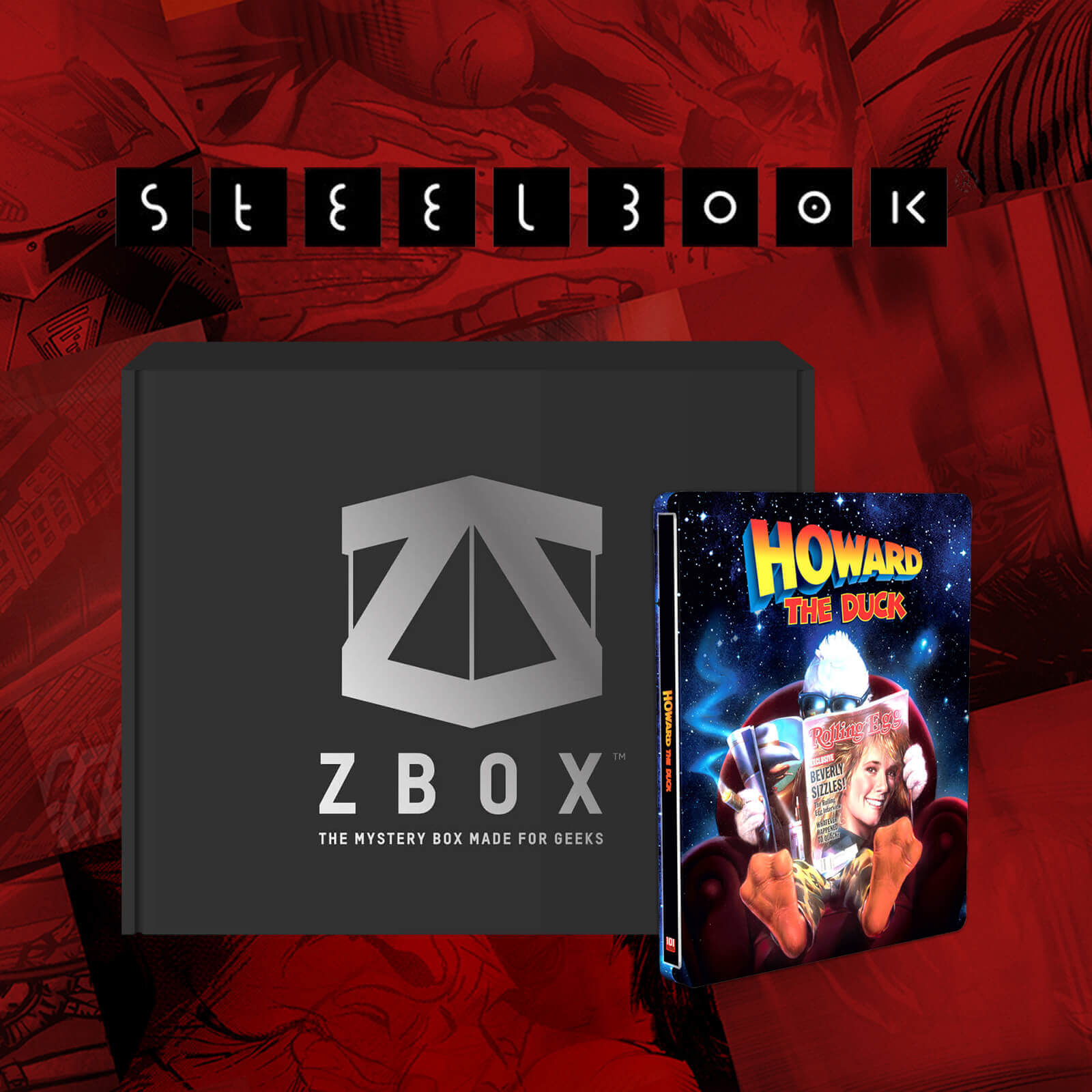 ZBOX x Steelbook Misteriosa Exclusiva Zavvi - Marvel