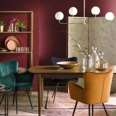 Sofisticadas, sostenibles, elegantes... 12 lámparas de techo ideales para dar un vuelco a tu salón