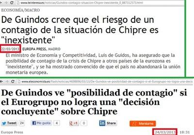 Sr. De Guindos ¿y ahora qué pasará en España?