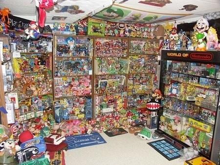 La habitación ideal para un fan de Nintendo