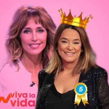Tiembla el puesto de Emma García en 'Viva la Vida': Toñi Moreno se hace con la audiencia y Telecinco medita la decisión