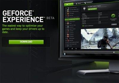 NVidia GeForce Experience se lanza en fase de beta pública