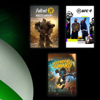 Fallout 76, UFC 4 y Destroy All Humans! están para jugar gratis en Xbox One con Xbox Live Gold