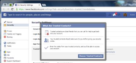"""Facebook ahora permite añadir """"contactos de confianza"""" para recuperar nuestra cuenta"""