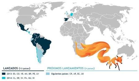 Firefox OS prepara su llegada a cuatro nuevos países, Reino Unido incluido, nueva versión mediante