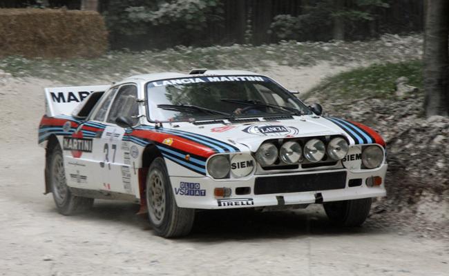 Lancia 037 - Tramo