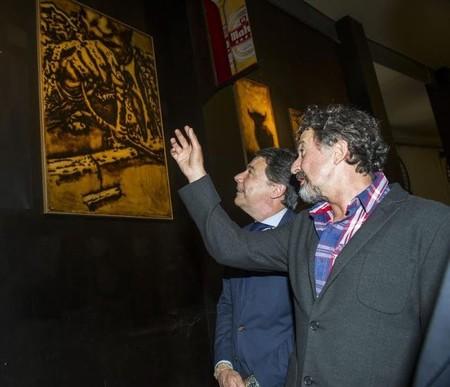 La exposición de José María Cano en Madrid, vista y no vista, pone el broche final a Tendido 11