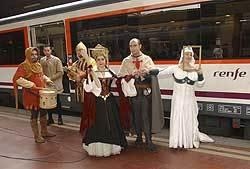 Tren medieval Madrid-Sigüenza