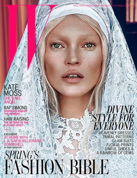 Ay la virgen, la virgen Kate Moss