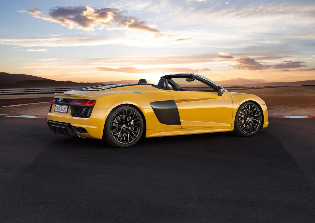 Audi R8 V10 Spyder 4 8