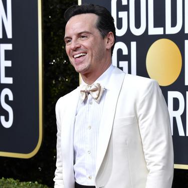 Andrew Scott viste el binomio perfecto de blanco y negro para los Golden Globes