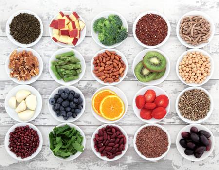 Top nueve de alimentos ricos en fibra