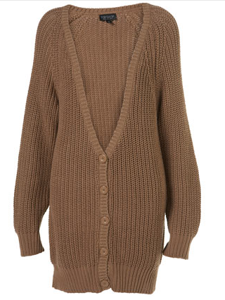 top shop cardigan