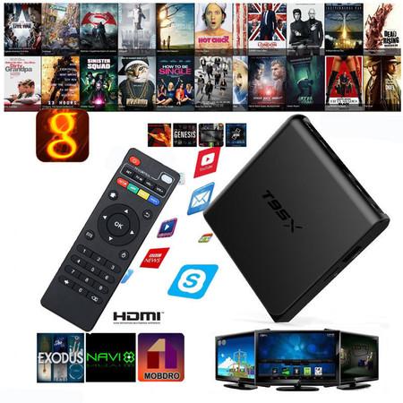Por 19,68 euros puedes darle una segunda vida a tu televisor con esta TV Box Android Sunvell T95X