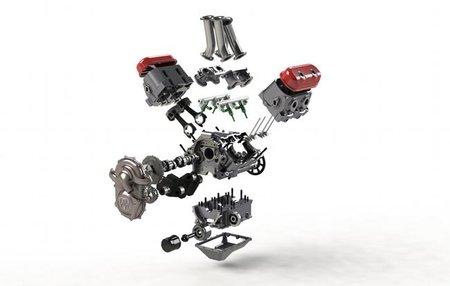 Motor Motus KMV4, la solución americana sigue adelante