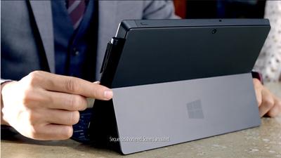 Se estrena el primer comercial del  Microsoft Surface Pro