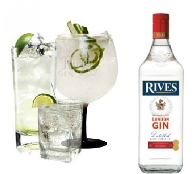 Ginebra Rives London gin, medalla de plata en la San Francisco World Spirits Competition 2013