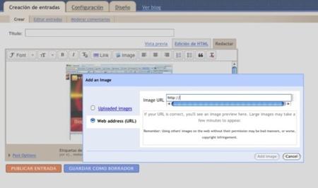Blogger Draft incorpora nuevas características