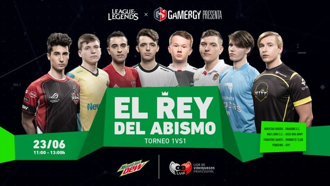 Los cracks de la Superliga Orange se verán las caras en El Rey del Abismo, el 1vs1 de Gamergy
