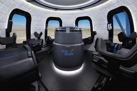 Blue Origin nos muestra las primeras imágenes de su cápsula que llevará turistas al espacio