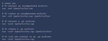 Cheat, una herramienta para consultar chuletas sobre comandos desde la propia terminal de Linux