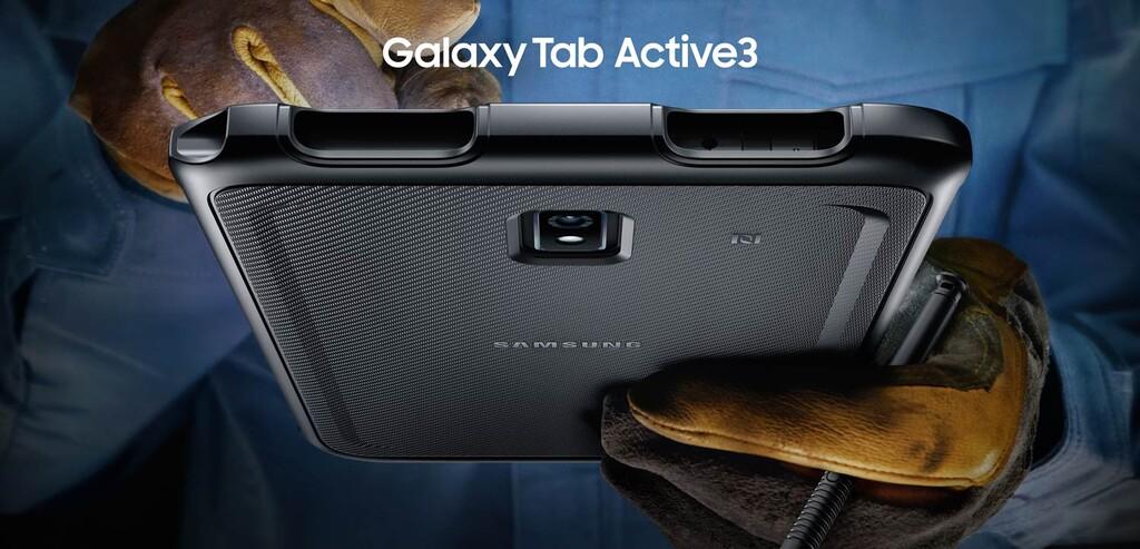 Samsung Galaxy Tab Active 3, una tablet ultraresistente con batería extraíble y S Pen