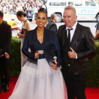 Alicia Keys y Jean Paul Gaultier