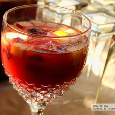 Receta: Clericot. Bebida suave y refrescante para festejar a las mamás
