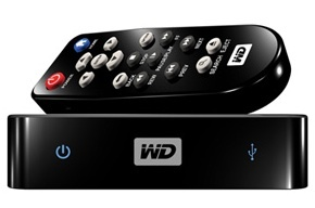 WD TV Mini, para la reproducción de vídeo pero sin HDMI