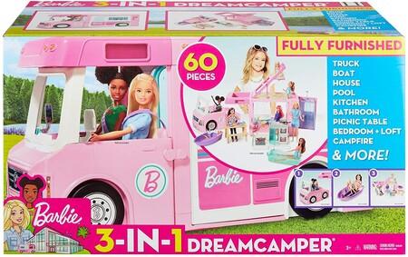 La caravana de Barbie es el regalo perfecto para pedir a los Reyes Magos y está a precio mínimo hoy en Amazon
