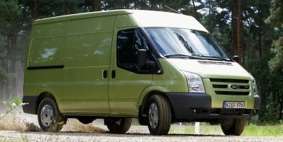 """Ford Transit, """"Van of the year 2007"""""""