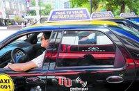 """Taxis en Argentina: de """"truchos"""" y tarjetas de crédito"""