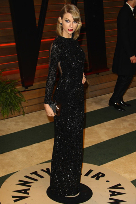 Fiesta Vanity Fair Oscar Taylor Swift Julien Macdonald