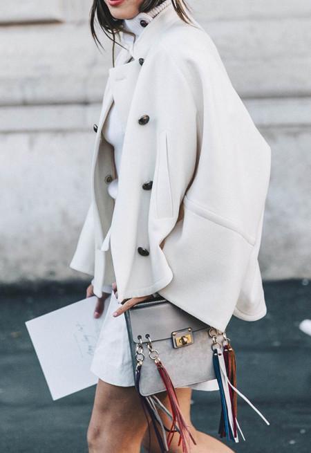 Aimee Song Chloe Coat Chloe Fringe Bag