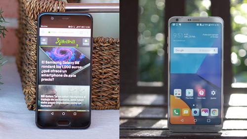 LG G6 y Huawei P10, dos estilos muy diferentes para buscar el móvil del año