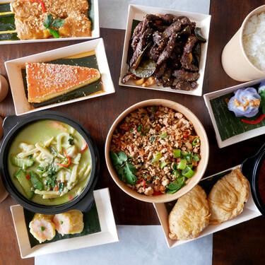 Vuelve el primer gran restaurante tailandés de España, 25 años después: con la misma comida, pero solo a domicilio