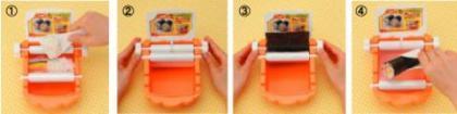 Bandai Sushi-Roller, otro gadget para hacer sushi