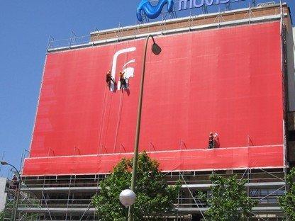 Grafitti Dodge en Madrid