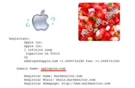 Apple registra el intrigante dominio ApplePico.com