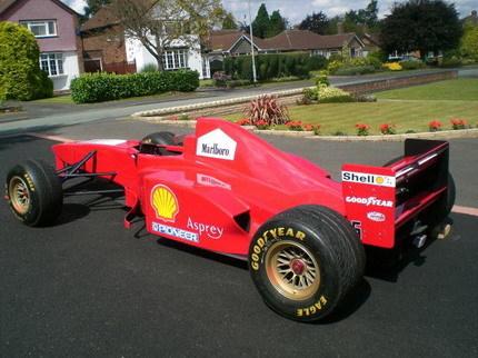 Réplica Ferrari F1 Monoplaza