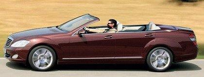 Hipótesis del Mercedes Clase S Cabrio