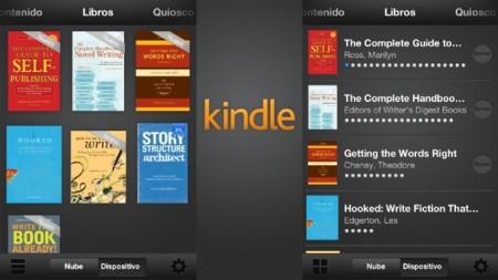 Kindle para iOS se actualiza con nuevo diseño y preparado para el nuevo iPad