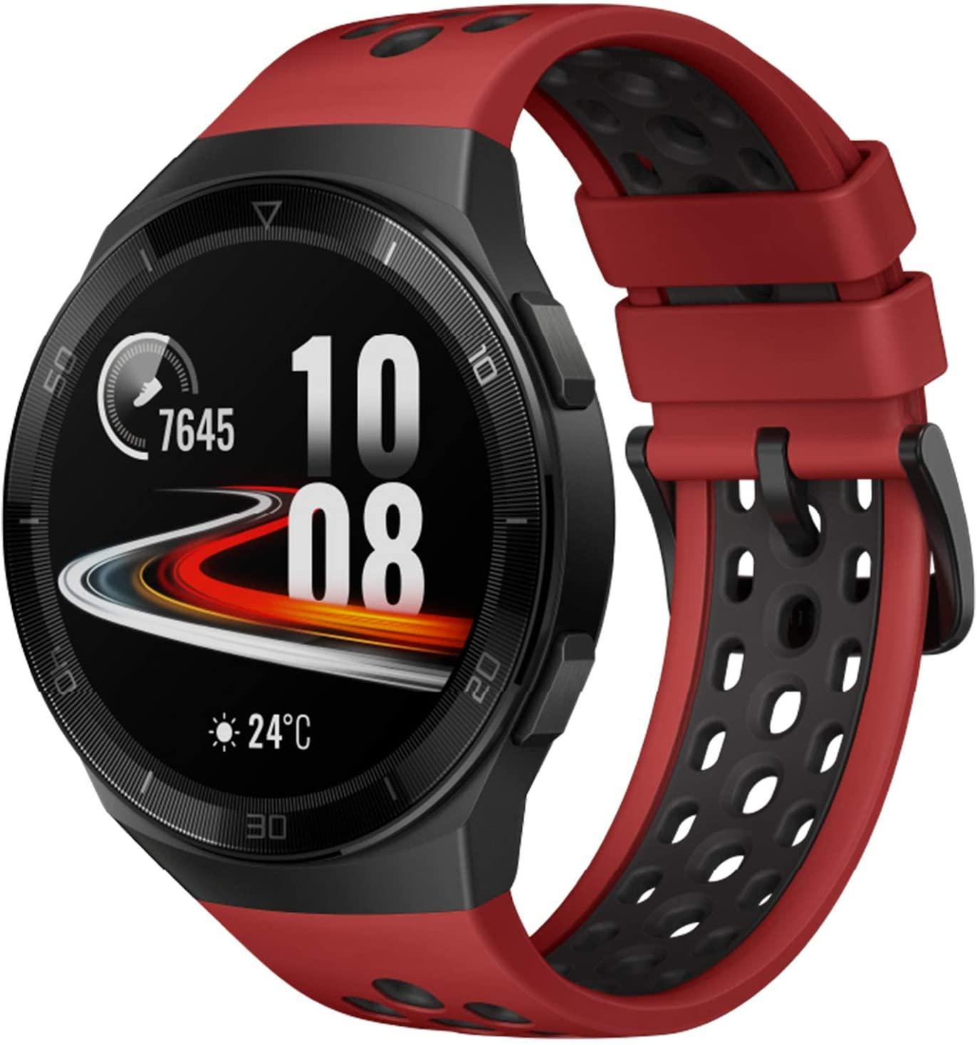"""Huawei Watch GT 1.39"""" AMOLED, batería hasta por 2 semanas, bluetooth (Rojo)"""