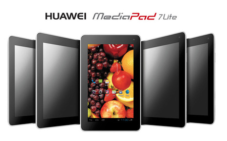 Huawei MediaPad 7 Lite, una más en la dura competencia de tablets económicas