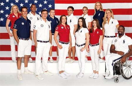 El equipo americano vestirá de Ralph Lauren en las Olimpiadas 2012